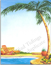 Product Image For Palm and Pool Paper